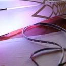 LED Lantern with Vinyl-Cut Pattern