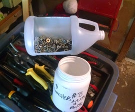 Nuts and bolts sorter and funnel $0 5 minutes,