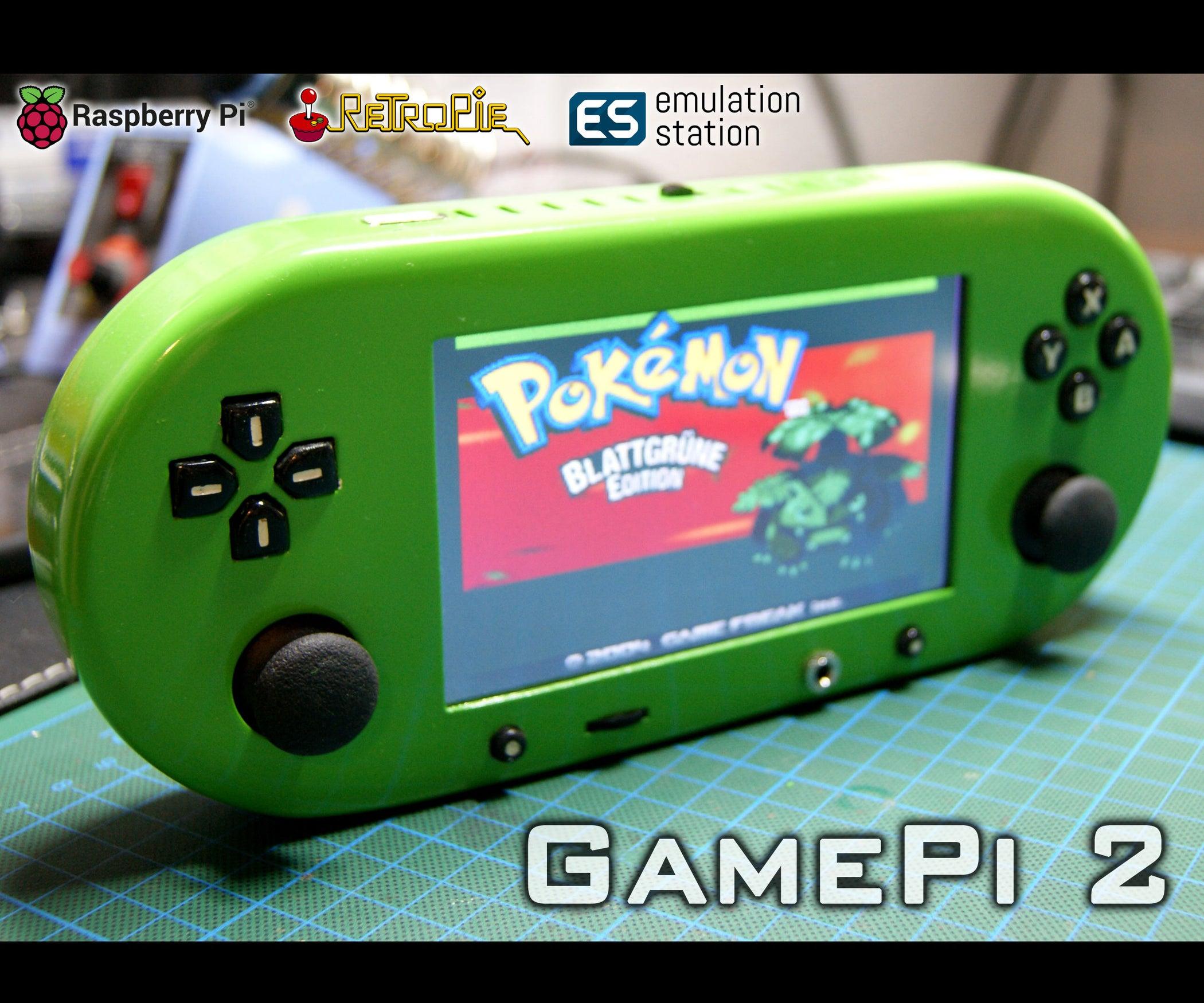 raspberry pi 3 handheld emulator