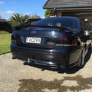 Tinting Tail Lights Ford Falcon Xr6