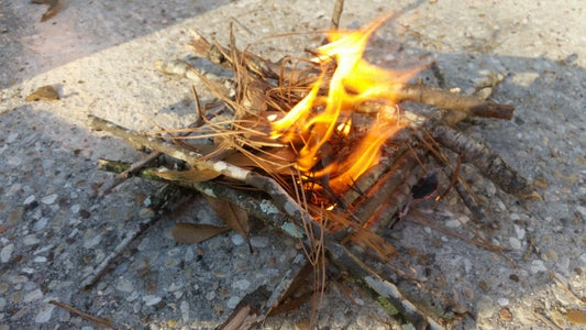 3 Different Ways to Build a Fire