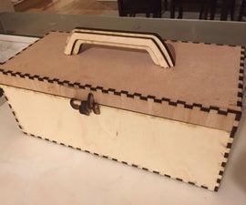 Laser Cut Art Box