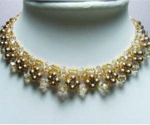 Elegant Beaded Necklace Tutorial