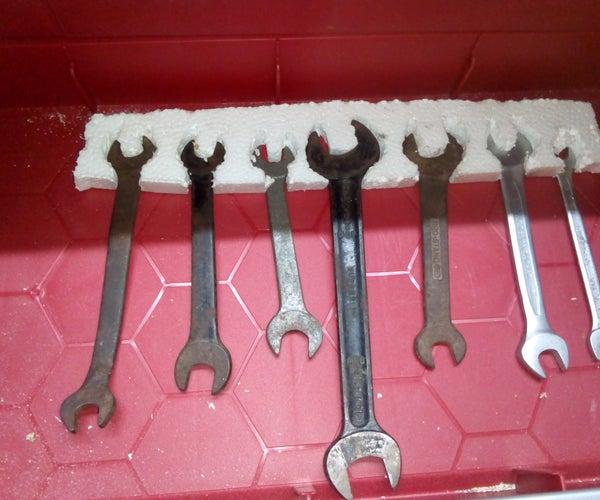 redneck drawer tool organizer