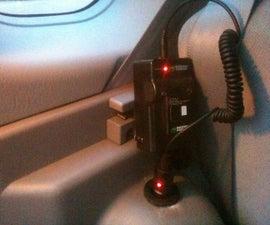 Trunk 12V socket/plug for a car