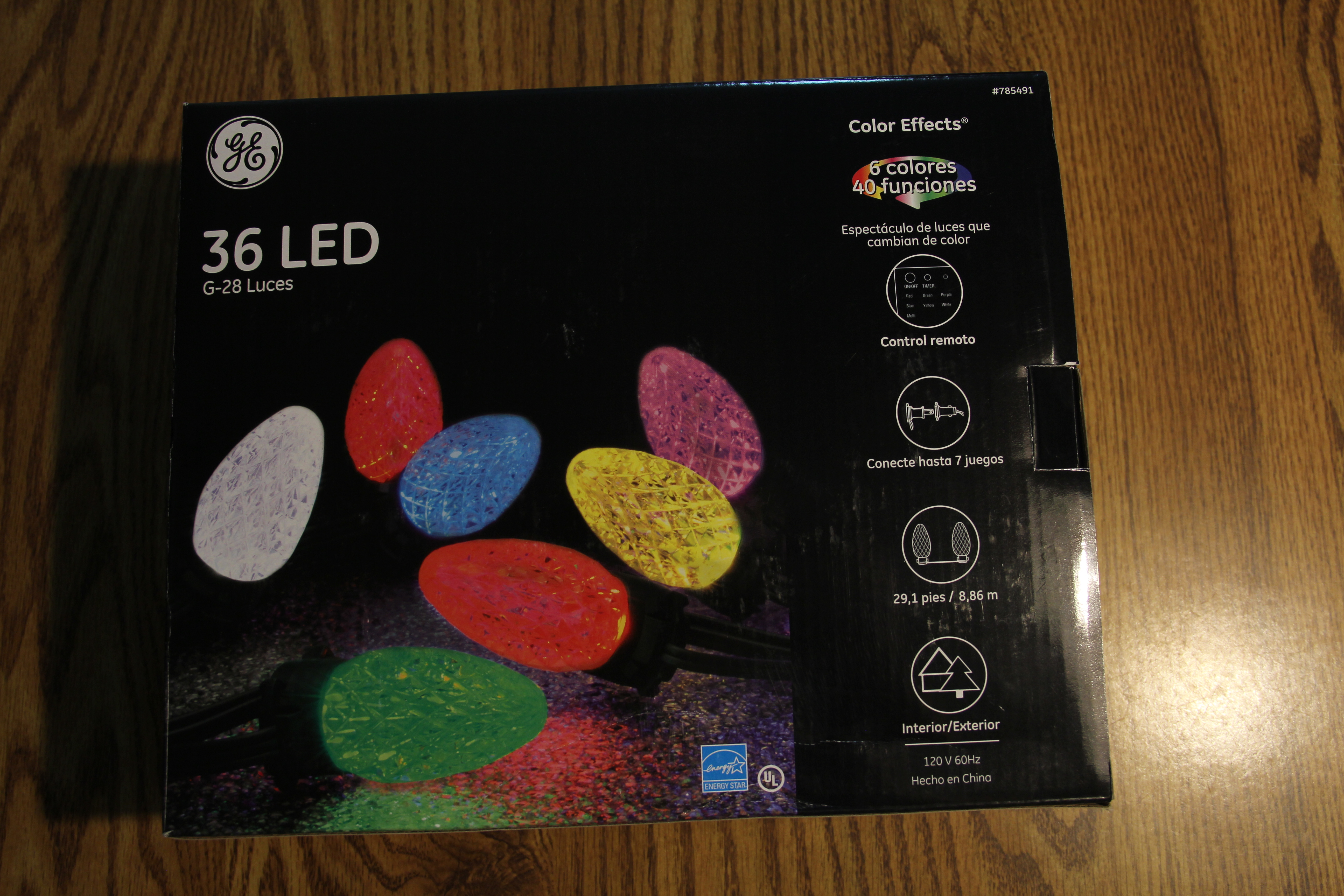 Picture of Purchase/Test the GE Color Effects Holiday Lights