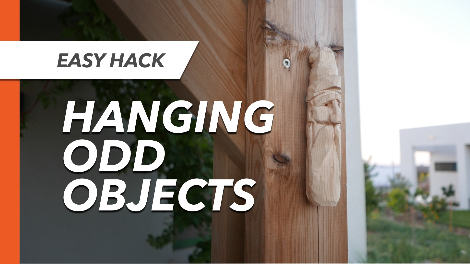 Picture of Easy Way to Hang Odd-shaped Objects on a Wall