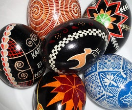Pysanky - Ukrainian Egg Dying