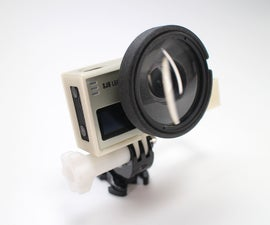 DIY Action Cam Macro Lens