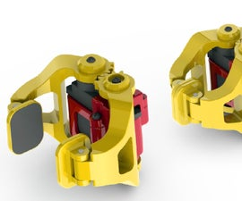 3D printed mini robotic gripper