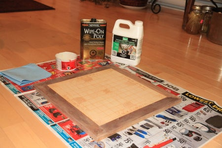 Coat the Board and Pieces