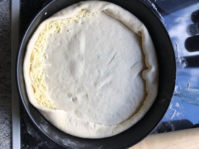 The Cheesy Stuffed Crust