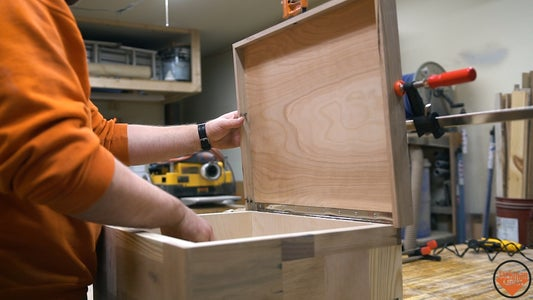 Making the Lid (attempt 2) and Installing the Latch