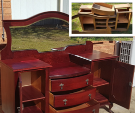 Antique Dresser From Trash to Treasure