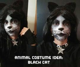 Animal Costume Idea: Black Cat