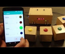 Quiz Game Show Buzzer Bluetooth Edition