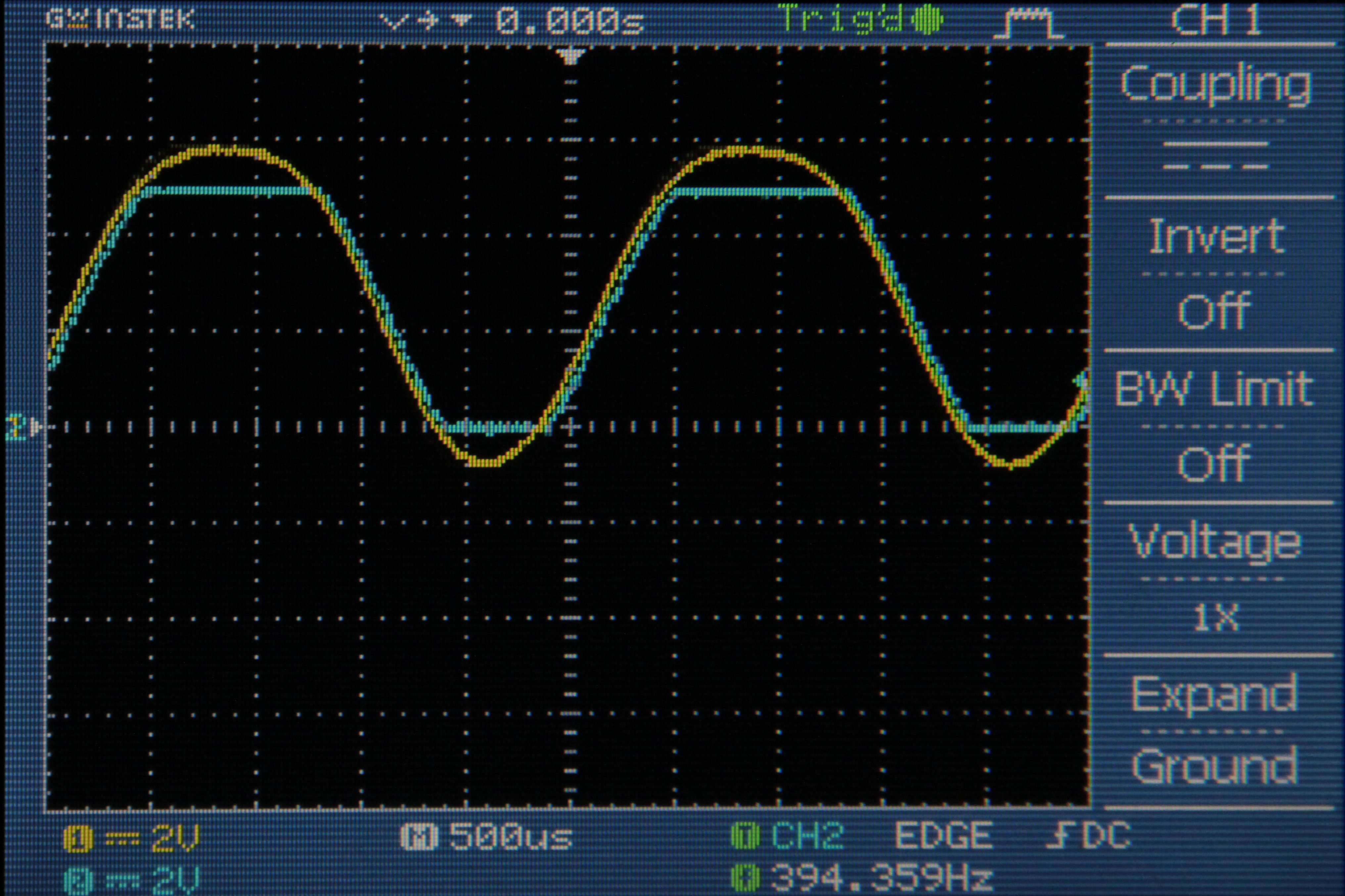 Picture of Sampling Rate of ~40kHz