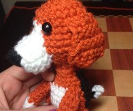 Crocheted Beagle