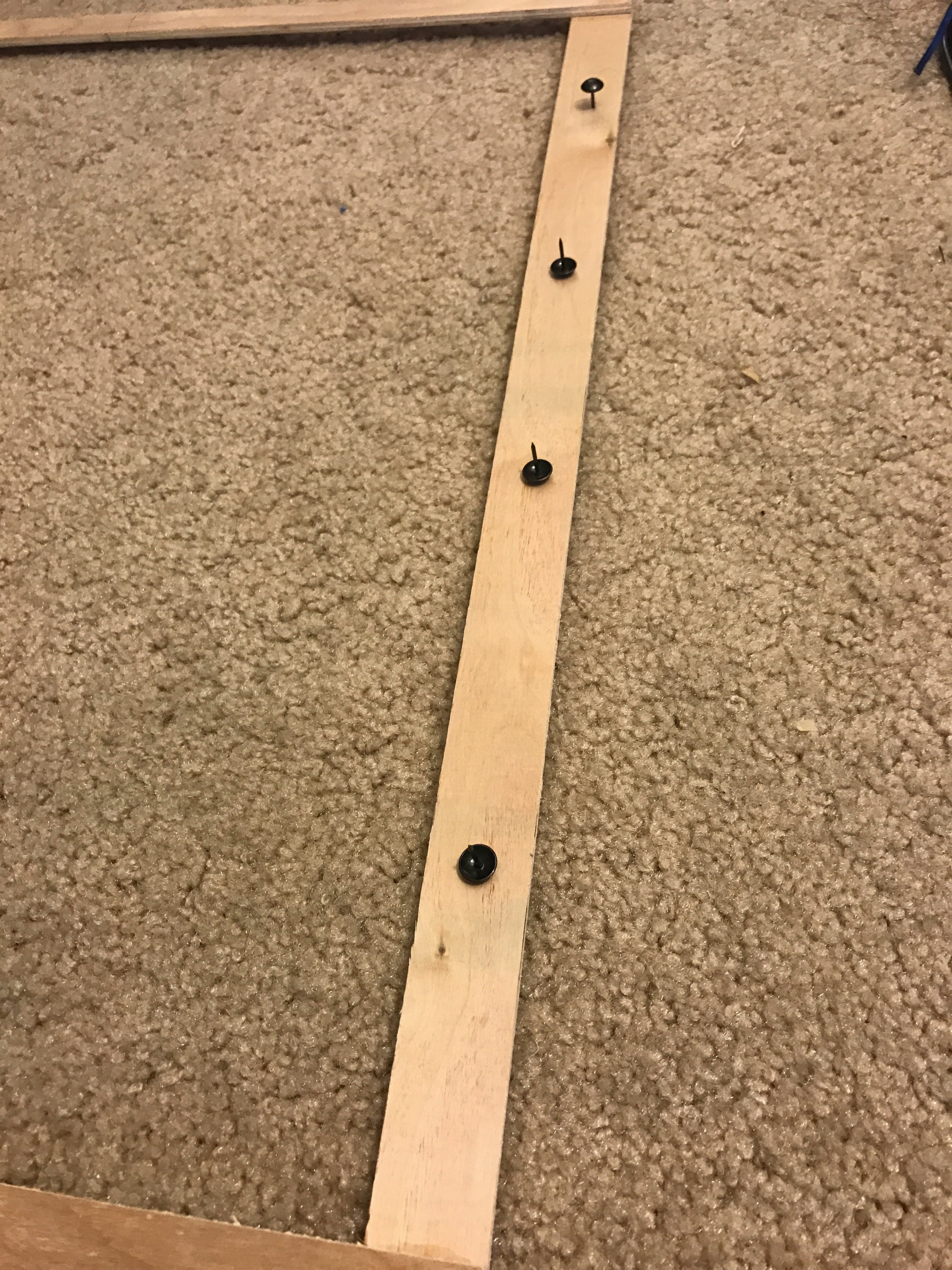 Picture of Put Pins on Frame