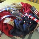 Title Decorating Your Burlap Patriotic Wreath