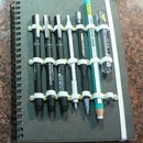 Make your own sketch journal with holders