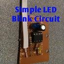 Simple LED Blink Circuit