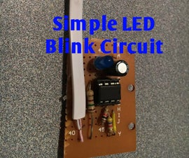 Simple LED Blink Circuit