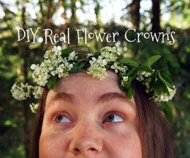 DIY Real Flower Crowns