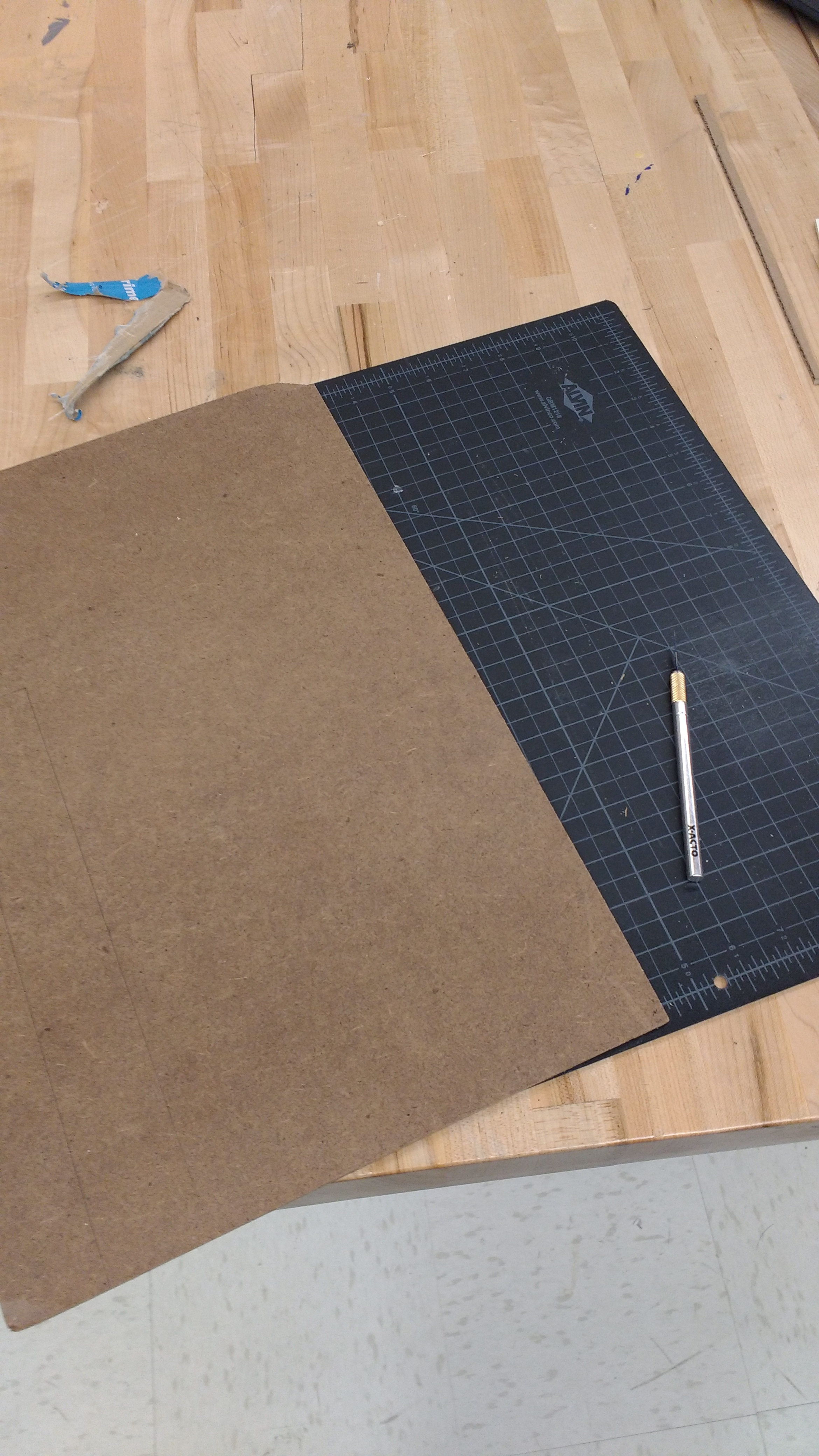 Picture of Drawing and Cutting Out the Materials