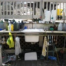 Potting Table with Sink