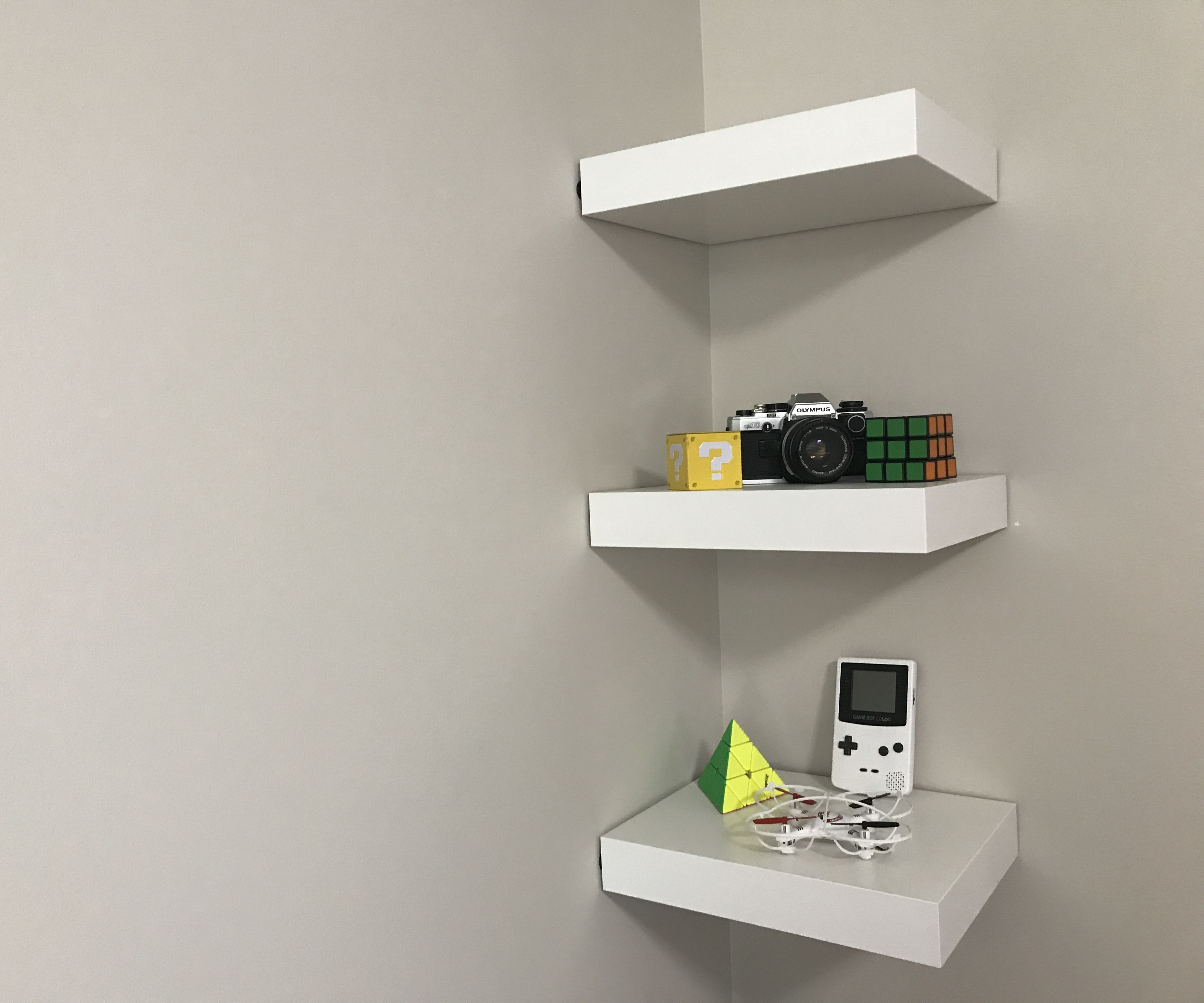 Ikea Lack Shelf Without Drilling Or Nails 6 Steps With