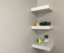 IKEA Lack Shelf Without Drilling or Nails