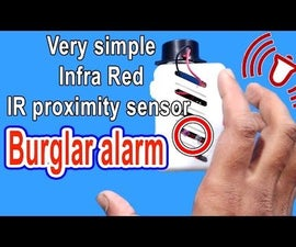 Burglar Alarm With IR Sensor