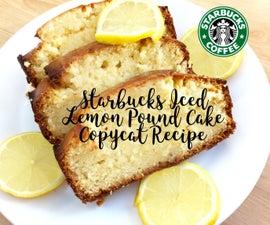 Starbucks Iced Lemon Pound Cake Copycat Recipe