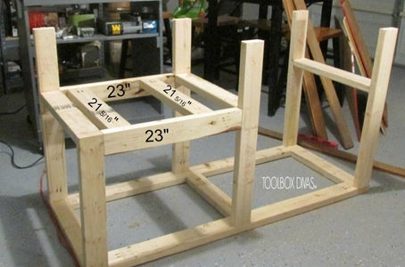 Section 5: Table Saw Support Beams