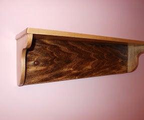 Simple Wall Shelf Using Rabbet Joints