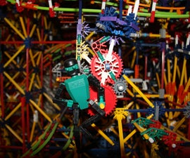 Metropolis - Knex Ball Machine Elements and Lifts