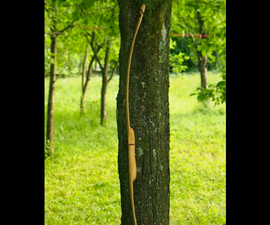 DIY ASH FLATBOW With Minimum Tools and LOTS OF FUN!