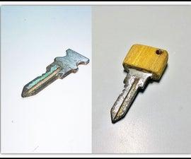 DIY Wooden Key Head