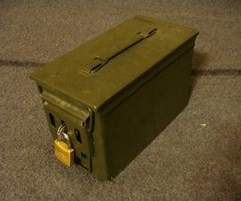 Ammunition Canister Lock Box