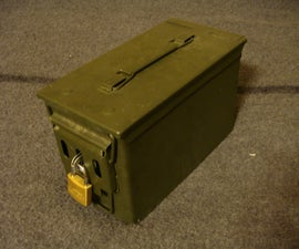 Ammunition Canister Lock Box
