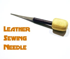 Leather Sewing Needle