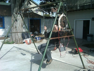A Swing Set That Generates Electricity