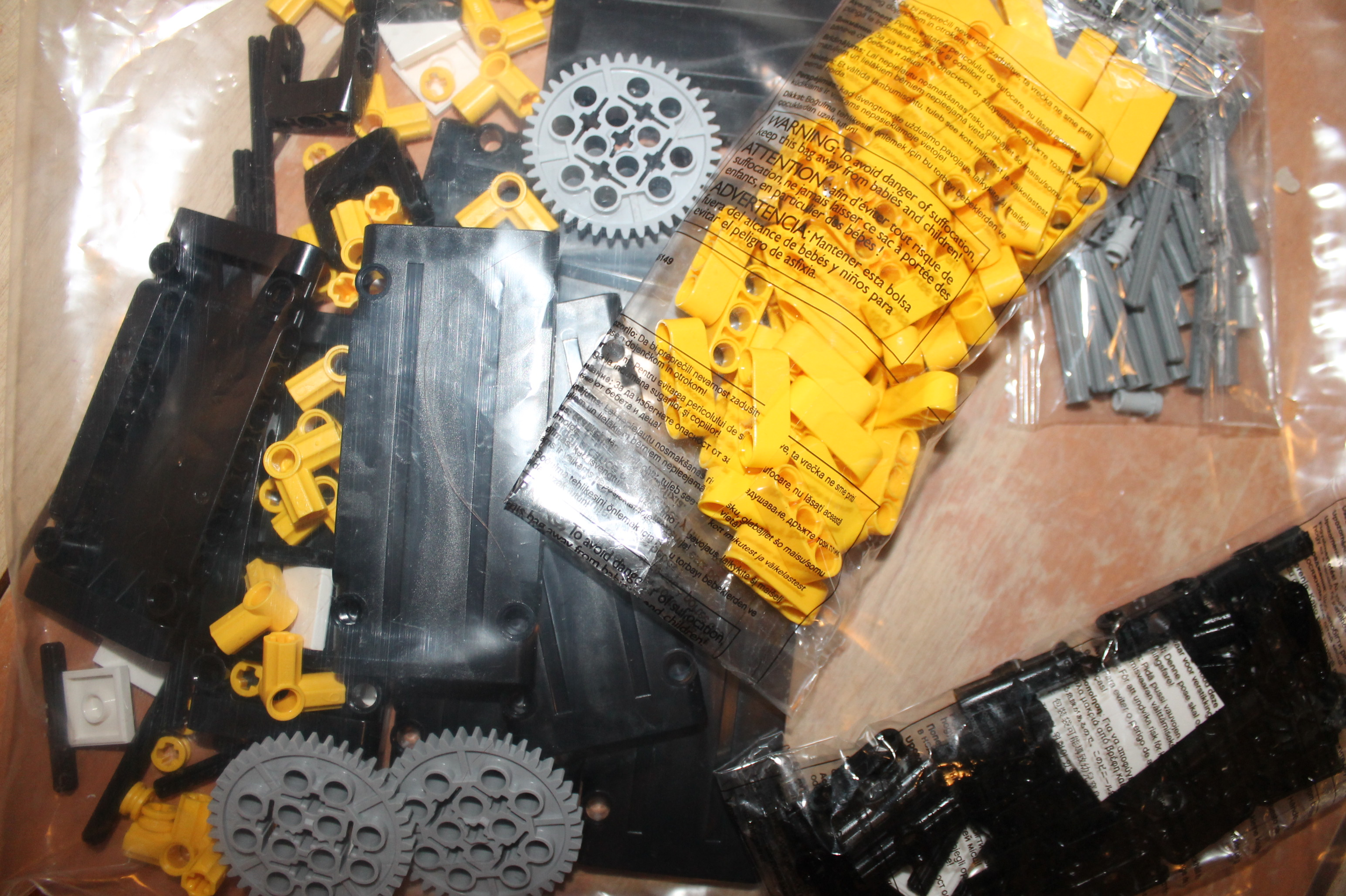 Picture of Gratuitous Photos of Piles of Brand New Legos