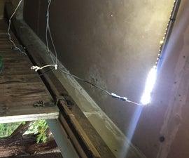 Battery Powered LED Garage Lighting