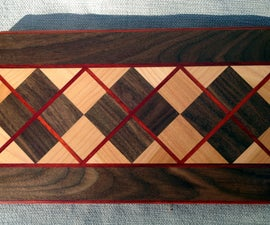 How To Make A Fabulous Argyle Cutting Board