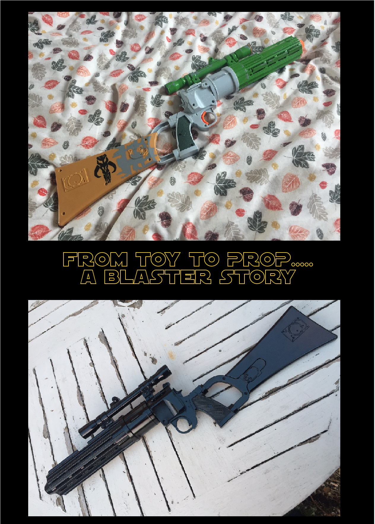 Picture of From Toy to Prop....A Star Wars Blaster Re Vamp