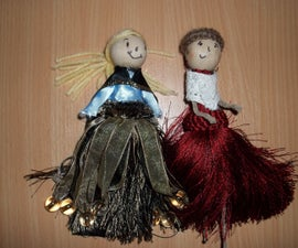 How to Make a Beautiful Tassel Doll