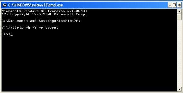 Hide D Targeted Folder