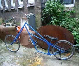Lowrider Chopper Bike, Made of Old Bikes